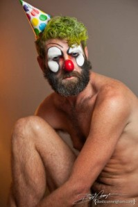 Gay clown.