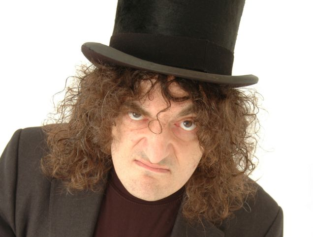 Comedy Outlaws No. 4. Jerry Sadowitz…Comedian, magician and psychopath.