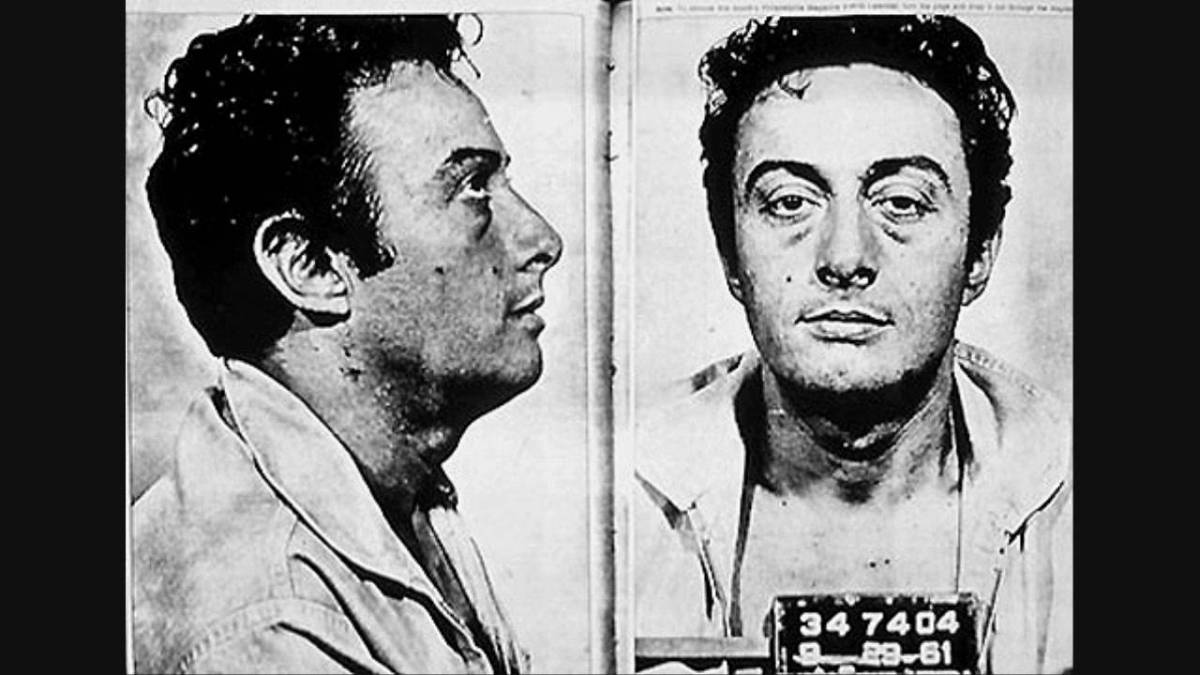 Comedy Outlaws No. 1 Lenny Bruce takes the power from theracist.